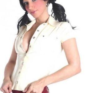 Westward Bound Tops - Latex Mistress Tailored Shirt